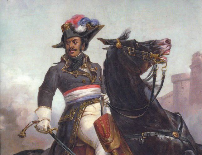 The Father of the Author of the Count of Monte Cristo. The muscle and power of Napoleon Bonaparte.