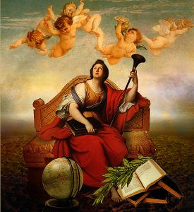 https://commons.wikimedia.org/wiki/File:The_Muse_Clio_-_Pierre_Mignard_(Full-version).jpg