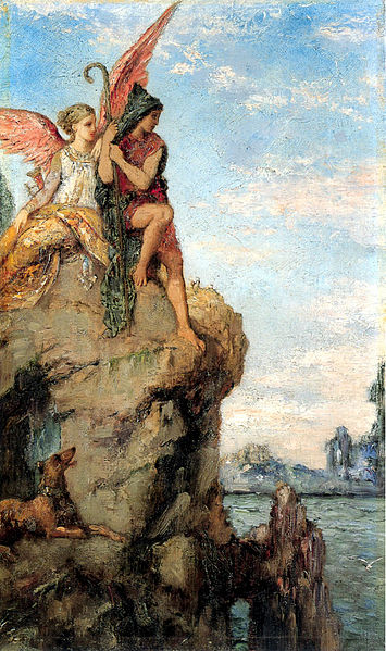 355px-Hesiod_and_the_Muse_by_Gustave_Moreau_(1870)