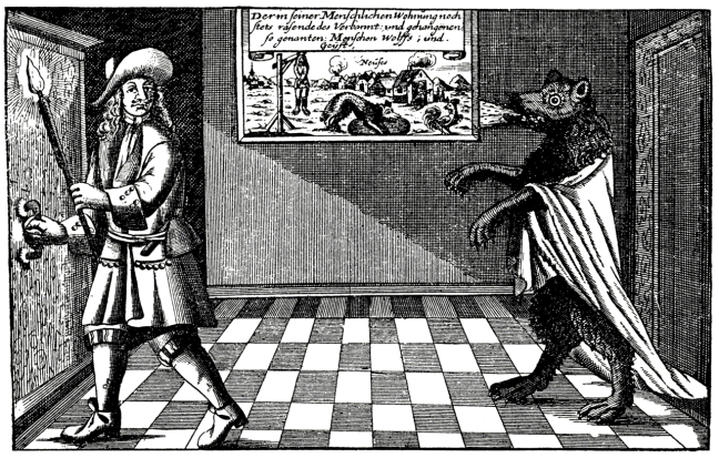 https://commons.wikimedia.org/wiki/Category:Werewolves#/media/File:Begegnung_im_Haus_(Werwolf_von_Neuses).png