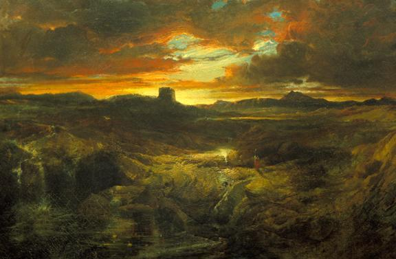 https://commons.wikimedia.org/wiki/File:Thomas_Moran_Childe_Roland_to_the_Dark_Tower_Came_1859.jpg