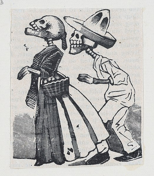 523px-A_male_skeleton_walking_behind_a_female_skeleton_(vignette_for_the_feast_of_the_dead)_MET_DP867978